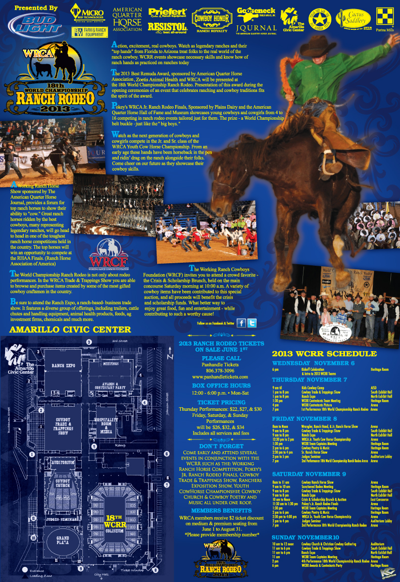 Tickets Are On Sale For The 18th World Championship Ranch